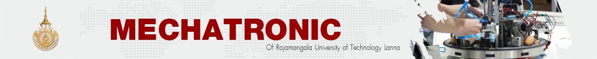 Website logo Faculty of engineering participate in the exhibition of research and innovation to develop technology and promote innovation. | Mechatronic of RMUTL